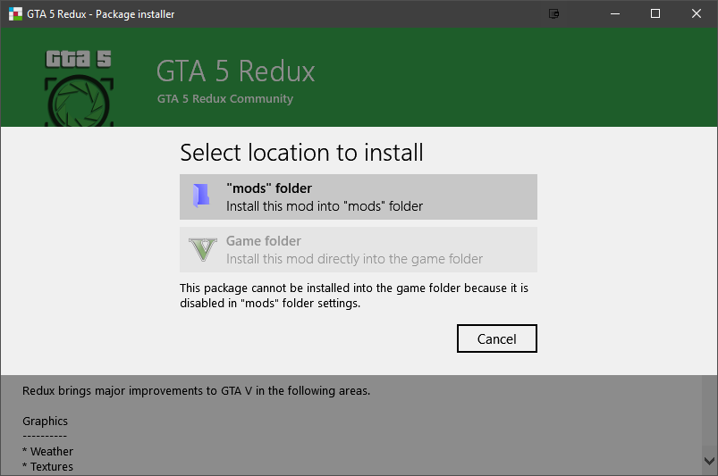 Install Mods in GTA V